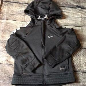 Boys Nike zip up hoodie Sz 5